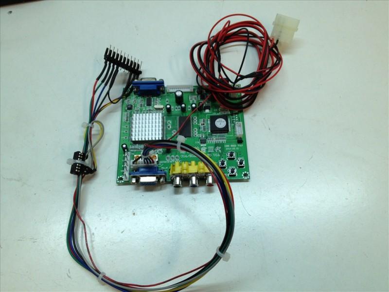 Adaptador CGA-VGA Pinball 2000